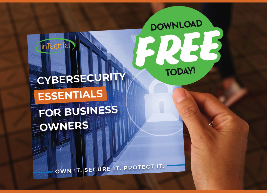 Cybersecurity Essentials for small businesses booklet